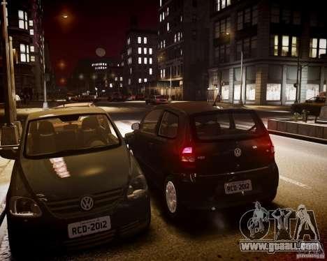 Volkswagen Fox 2011 for GTA 4 inner view