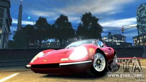 Ferrari Dino 246 GTS for GTA 4 right view