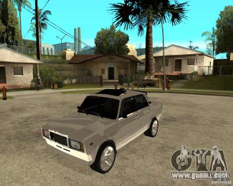 VAZ 2107 Light Tuning v2.0 for GTA San Andreas