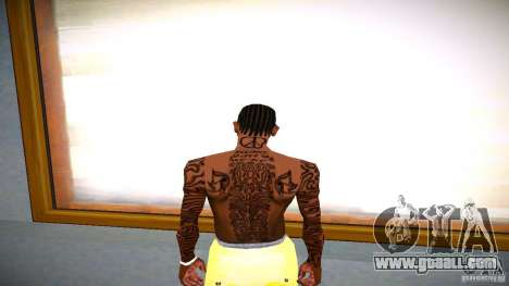 Three new tattoo for GTA San Andreas third screenshot