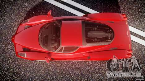 Ferrari Enzo for GTA 4 right view