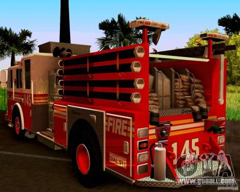 Pumper Seagrave Marauder F.D.N.Y for GTA San Andreas right view