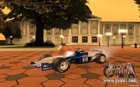 BMW F1 Williams for GTA San Andreas left view