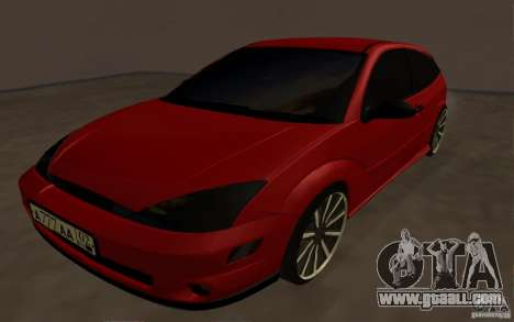 Ford Focus Light Tuning for GTA San Andreas