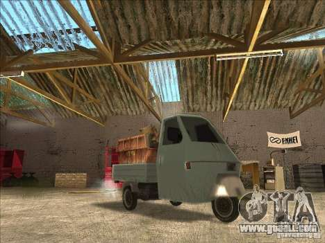 Ape Piaggio for GTA San Andreas