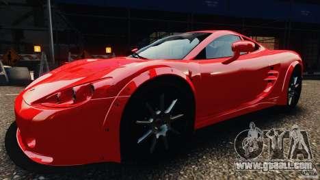 Ascari KZ1 v1.0 for GTA 4 back left view