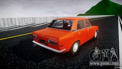 Datsun Bluebird 510 Sedan 1970 for GTA 4