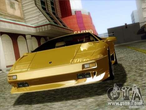 Lamborghini Diablo VT 1995 V3.0 for GTA San Andreas side view
