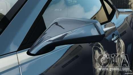 Chevrolet Camaro ZL1 2012 v1.0 Smoke Stripe for GTA 4 interior