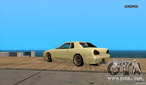 Elegy Drift Style for GTA San Andreas left view