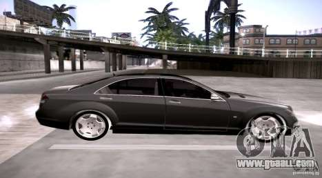 Mercedes-Benz S600 v12 for GTA San Andreas left view