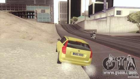 Kia Ceed for GTA San Andreas left view