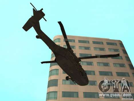 UH-60 Black Hawk for GTA San Andreas right view