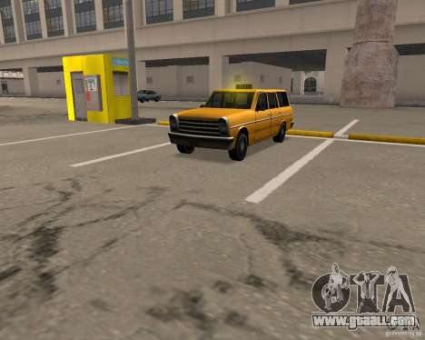 Perennial Cab for GTA San Andreas left view