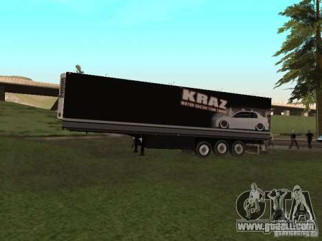 New trailer for GTA San Andreas side view