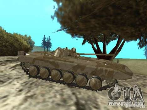 BMP-2 of CGS for GTA San Andreas back left view
