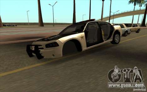 County Sheriffs Dept Dodge Charger for GTA San Andreas right view