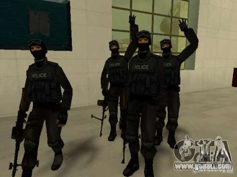 Help Swat for GTA San Andreas ninth screenshot