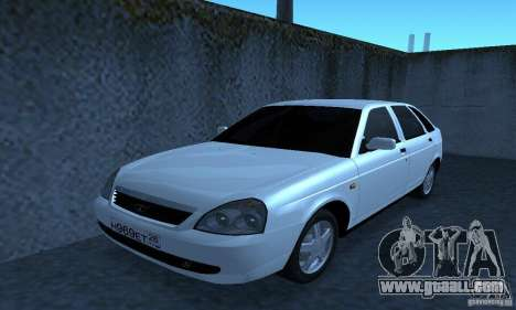 Lada Priora Hatchback for GTA San Andreas