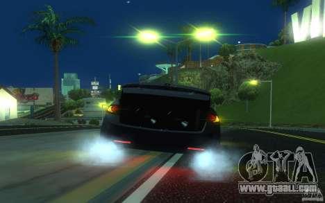 Honda Accord for GTA San Andreas bottom view