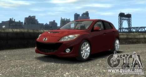 Mazda Speed 3 2010 for GTA 4