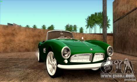 BMW 507 for GTA San Andreas back view