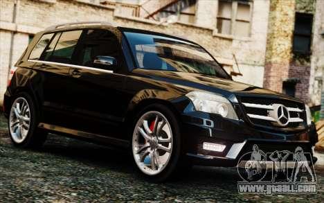 Mercedes-Benz GLK 320 CDI for GTA 4