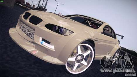 BMW M3 E92 Tuned for GTA San Andreas back left view