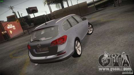 Opel Astra 2010 for GTA San Andreas side view