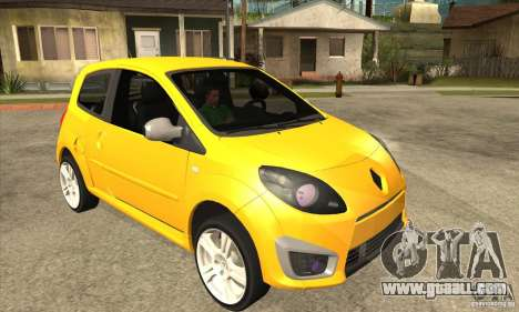 Renault Twingo RS 2009 for GTA San Andreas back view