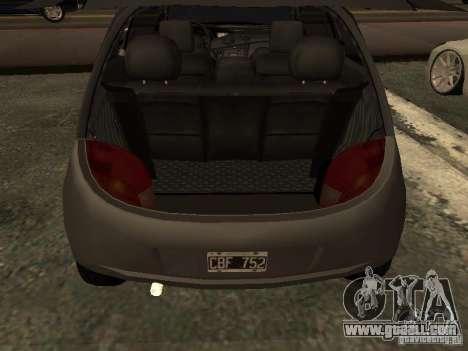 Ford Ka 1998 for GTA San Andreas back view