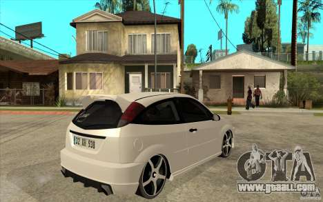Ford Focus Coupe Tuning for GTA San Andreas right view