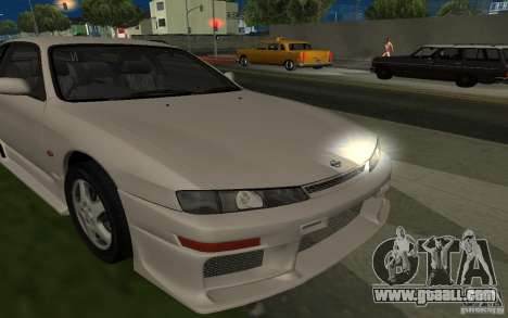 Nissan 200SX for GTA San Andreas bottom view