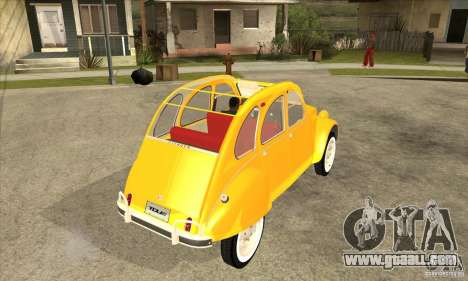 Citroen 2CV for GTA San Andreas right view