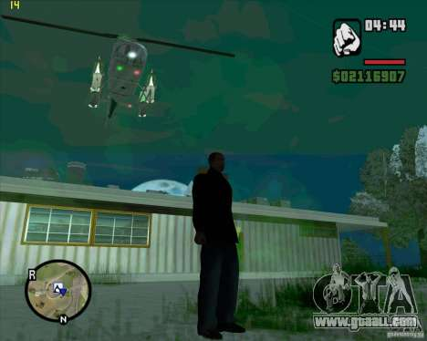 Helicopter help for GTA San Andreas