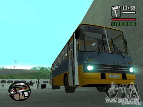 Ikarus 263 for GTA San Andreas back left view