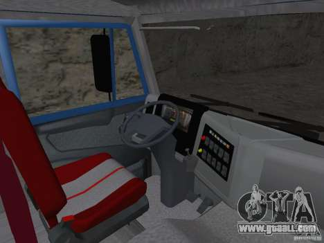 KAMAZ 65222 for GTA San Andreas back view