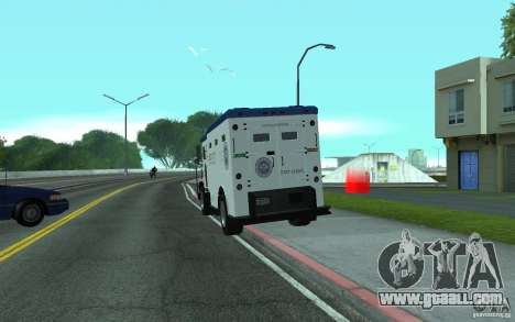Securicar from GTA IV for GTA San Andreas left view
