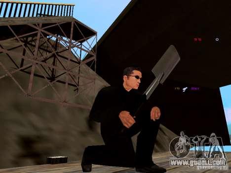 Ice Weapon Pack for GTA San Andreas sixth screenshot