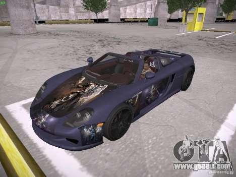 Porsche Carrera GT for GTA San Andreas side view