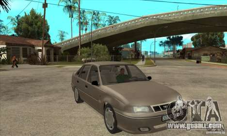Daewoo Nexia Dohc 2009 for GTA San Andreas back view