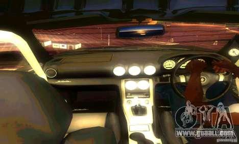 Nissan Silvia S15 8998 Edition Tunable for GTA San Andreas interior
