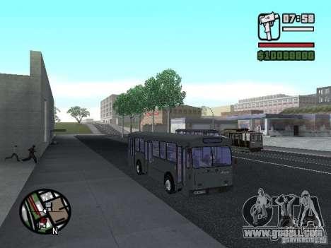 FBW Hess 91U for GTA San Andreas back left view