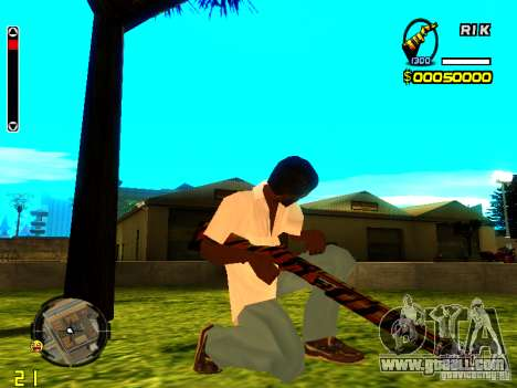 Tiger wepon pack for GTA San Andreas second screenshot