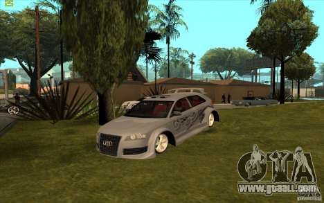 Audi A3 for GTA San Andreas