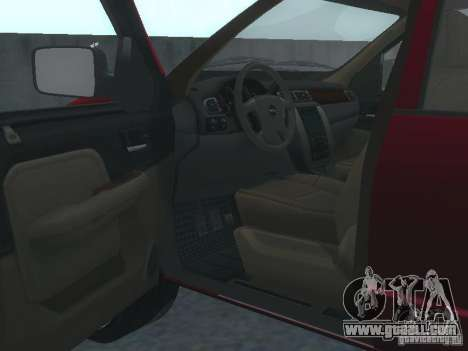 Dodge Ram 1500 v2 for GTA San Andreas back view
