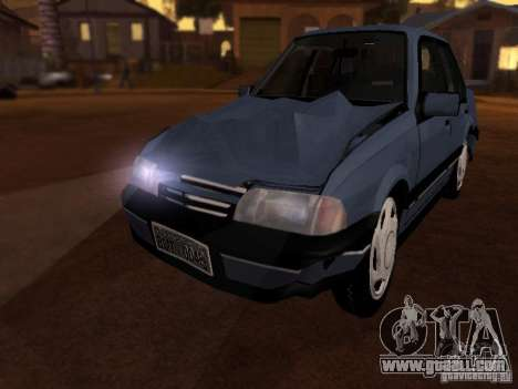 Chevrolet Monza GLS 1996 for GTA San Andreas inner view