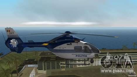 Eurocopter Ec-135 Politia Romana for GTA Vice City right view