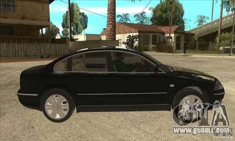 Volkswagen Passat B5+ for GTA San Andreas back view