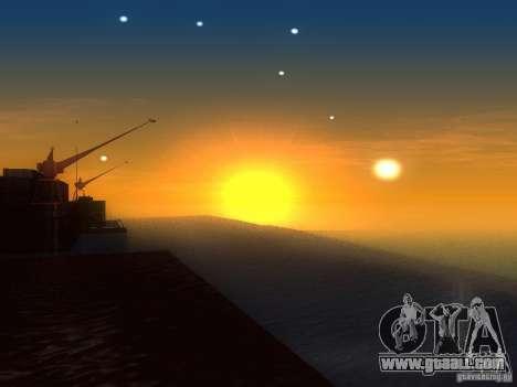 HQ Water for GTA San Andreas forth screenshot